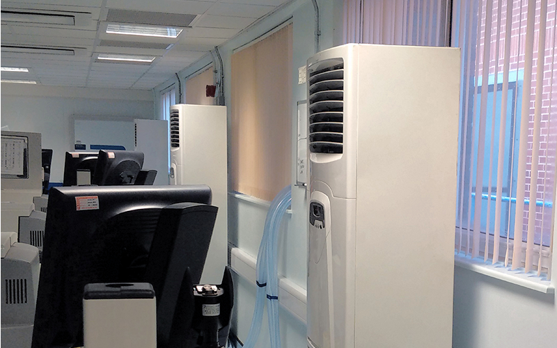 100KW critical cooling keeps hospital running